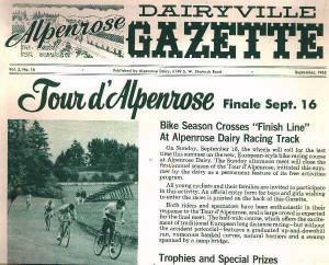 Yes I said dirt (Alpenrose Dairy Gazette, Sep., 1962)